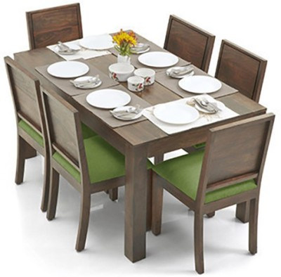 Urban Ladder Arabia - Oribi Solid Wood Dining Set(Finish Color - Teak)