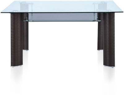@home by Nilkamal Bambino Metal 6 Seater Dining Table