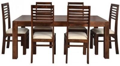 Indian Hub Solid Wood Dining Set