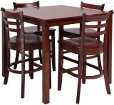 Evok Lydon Solid Wood Dining Set (Finish...