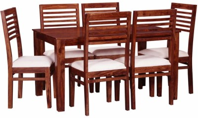 Smart Choice Furniture Rosewood (Sheesham)_JIDS15_Matte finish Solid Wood Dining Set