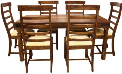Woodpecker Jamaica Solid Wood Dining Set