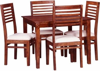 Smart Choice Furniture Rosewood (Sheesham)_JIDS14_Matte finish Solid Wood Dining Set