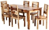 The Attic Solid Wood Dining Set (Finish ...