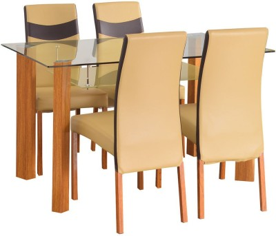 @home by Nilkamal Tavern Solid Wood Dining Set