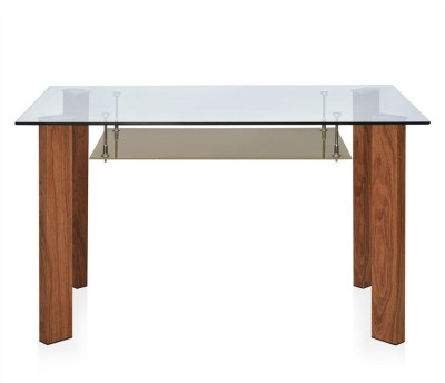 @home by Nilkamal Tavern Metal 4 Seater Dining Table