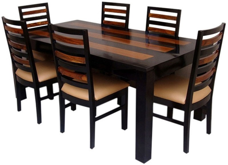 View Ethnic Handicrafts Solid Wood Dining Set(Finish Color - Honey) Furniture (Ethnic Handicrafts)