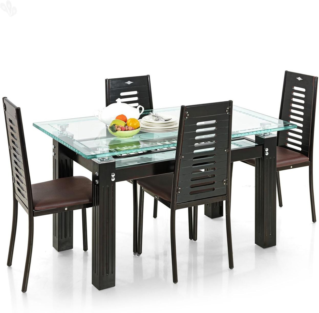 f2798a7faee View Royal Oak County Metal Dining Set(Finish Color - Dark) Furniture