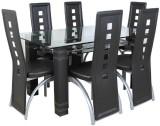 Parin Leatherette Dining Set (Finish Col...