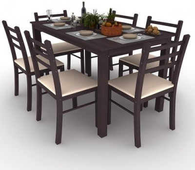 Housefull Engineered Wood Dining Set