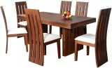 Ethnic Handicrafts Bonded Leather Dining...