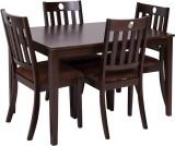Evok Canton Solid Wood Dining Set (Finis...