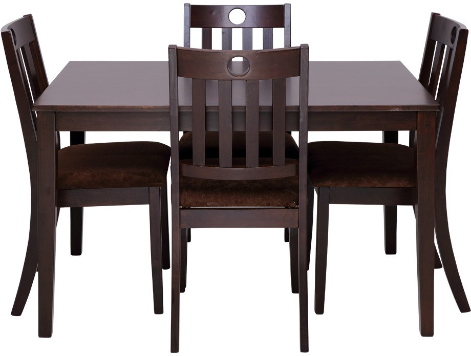 Evok Canton Solid Wood Dining Set