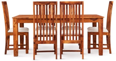 Smart Choice Furniture Rosewood (Sheesham)_JIDS07_Matte finish Solid Wood Dining Set