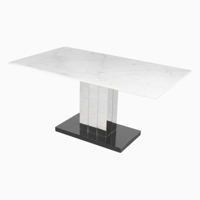 Godrej Interio MARVEL DINING TABLE Stone 6 Seater Dining Table