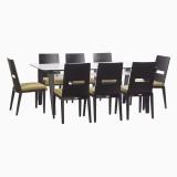 Godrej Interio Crescent Dining Set Glass...