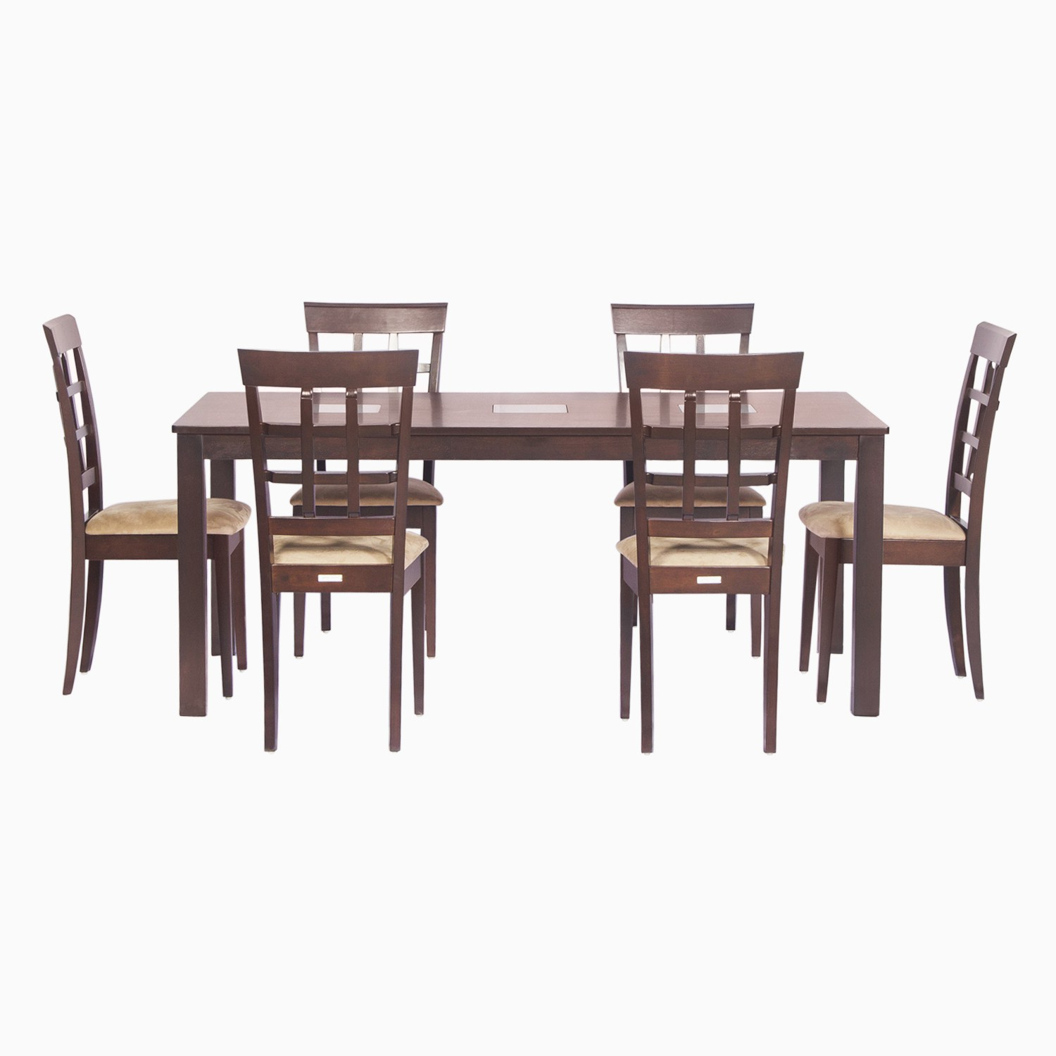 Godrej Interio Leo & Lisa Dining Set Solid Wood Dining Set