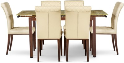 HomeTown Ramona Glass Dining Set