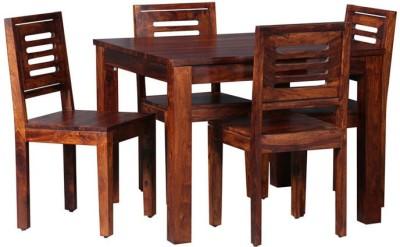 Smart Choice Furniture Rosewood (Sheesham)_JIDS05_Matte finish Solid Wood Dining Set