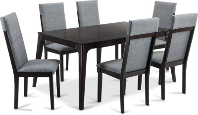 Durian NEVILLE Engineered Wood Dining Set(Finish Color - Cappuccino)