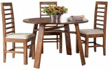 Tezerac Solid Wood Dining Set (Finish Co...