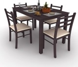 Housefull Engineered Wood Dining Set (Fi...