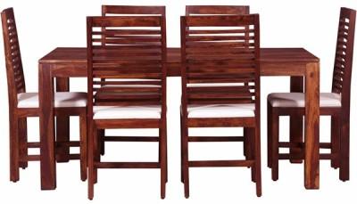 Smart Choice Furniture Rosewood (Sheesham)_JIDS08_Matte finish Solid Wood Dining Set