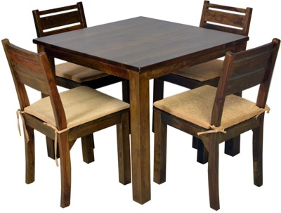 HomeTown Java Solid Wood Dining Set