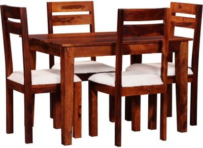 Smart Choice Furniture Rosewood (Sheesham)_JIDS09_Matte finish Solid Wood Dining Set