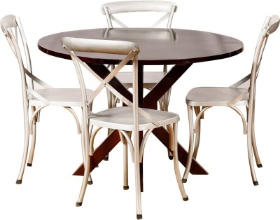 Induscraft Solid Wood Dining Set