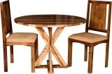Handiana Solid Wood Dining Set (Finish C...
