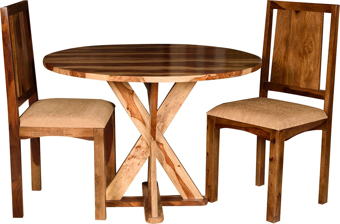 View Handiana Solid Wood Dining Set(Finish Color - Brown) Furniture (Handiana)