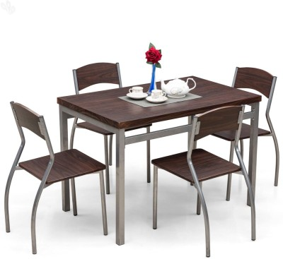 Royal Oak Engineered Wood Dining Set(Finish Color - Honey Brown)
