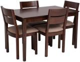 Evok Envy Solid Wood Dining Set (Finish ...