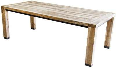 InLiving Solid Wood 6 Seater Dining Table