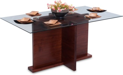 Durian TASMAN/DT Solid Wood 6 Seater Dining Table