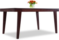 Durian Andaman Solid Wood 6 Seater Dining Table(Finish Color - Rosewood)