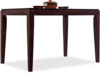 Durian Carribean/A Solid Wood 4 Seater Dining Table(Finish Color - Rosewood)