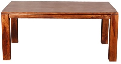 Evok Della Solid Wood 6 Seater Dining Table