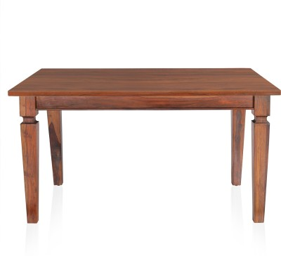 @home by Nilkamal Willow6 Solid Wood 6 Seater Dining Table