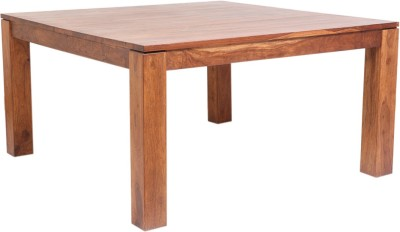 Evok Solid Wood 6 Seater Dining Table