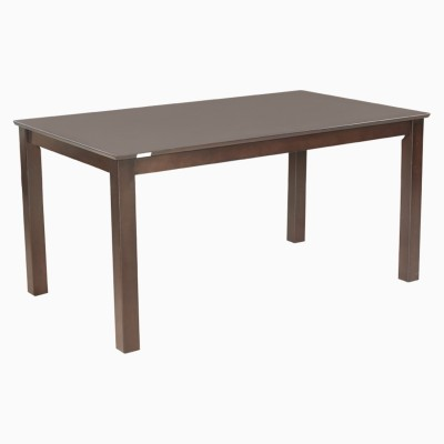 Godrej Interio JULIUS PLUS DIN TABLE IND MAGN Engineered Wood 6 Seater Dining Table(Finish Color - Indian Mahogany)