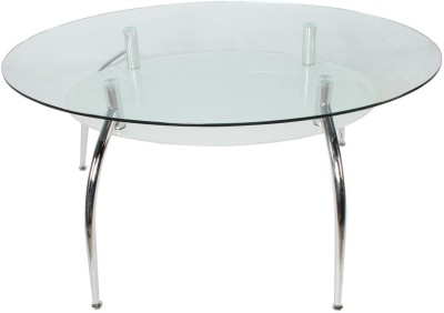 Godrej Interio Glass 6 Seater Dining Table