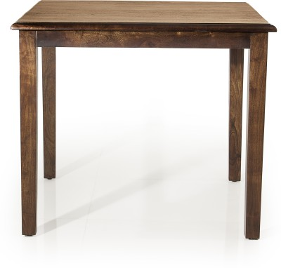Evok Riva Solid Wood 4 Seater Dining Table