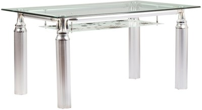 Parin Metal 4 Seater Dining Table
