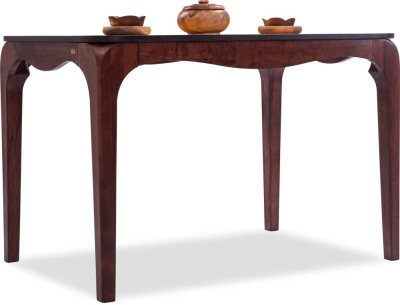 Durian Arabian/A Solid Wood 4 Seater Dining Table