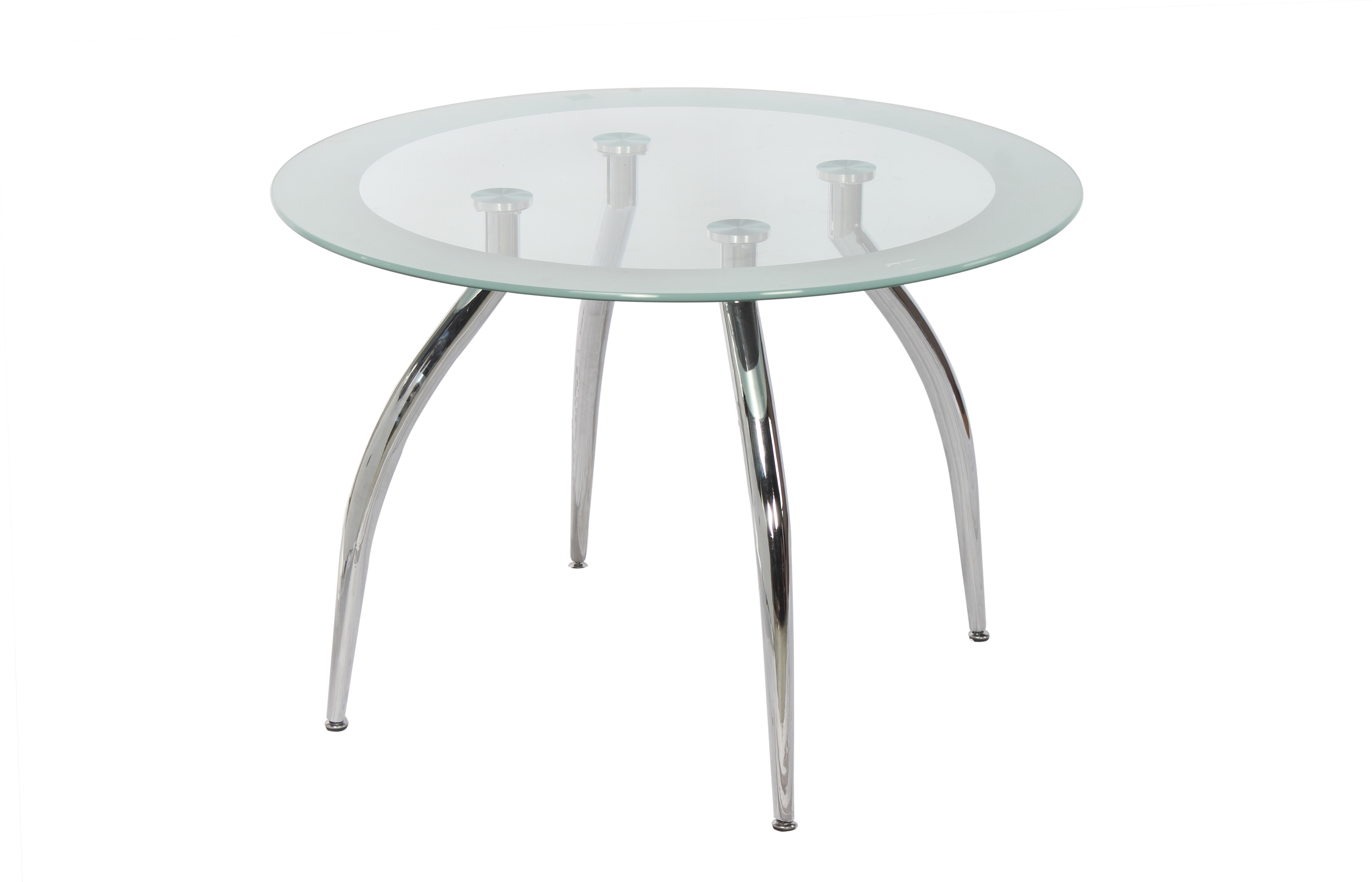 Godrej Interio Glass 4 Seater Dining Table