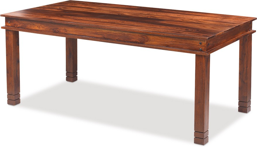 Jivan Solid Wood 6 Seater Dining Table class=