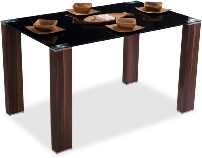 Durian HIDCO/59401/A Engineered Wood 4 Seater Dining Table