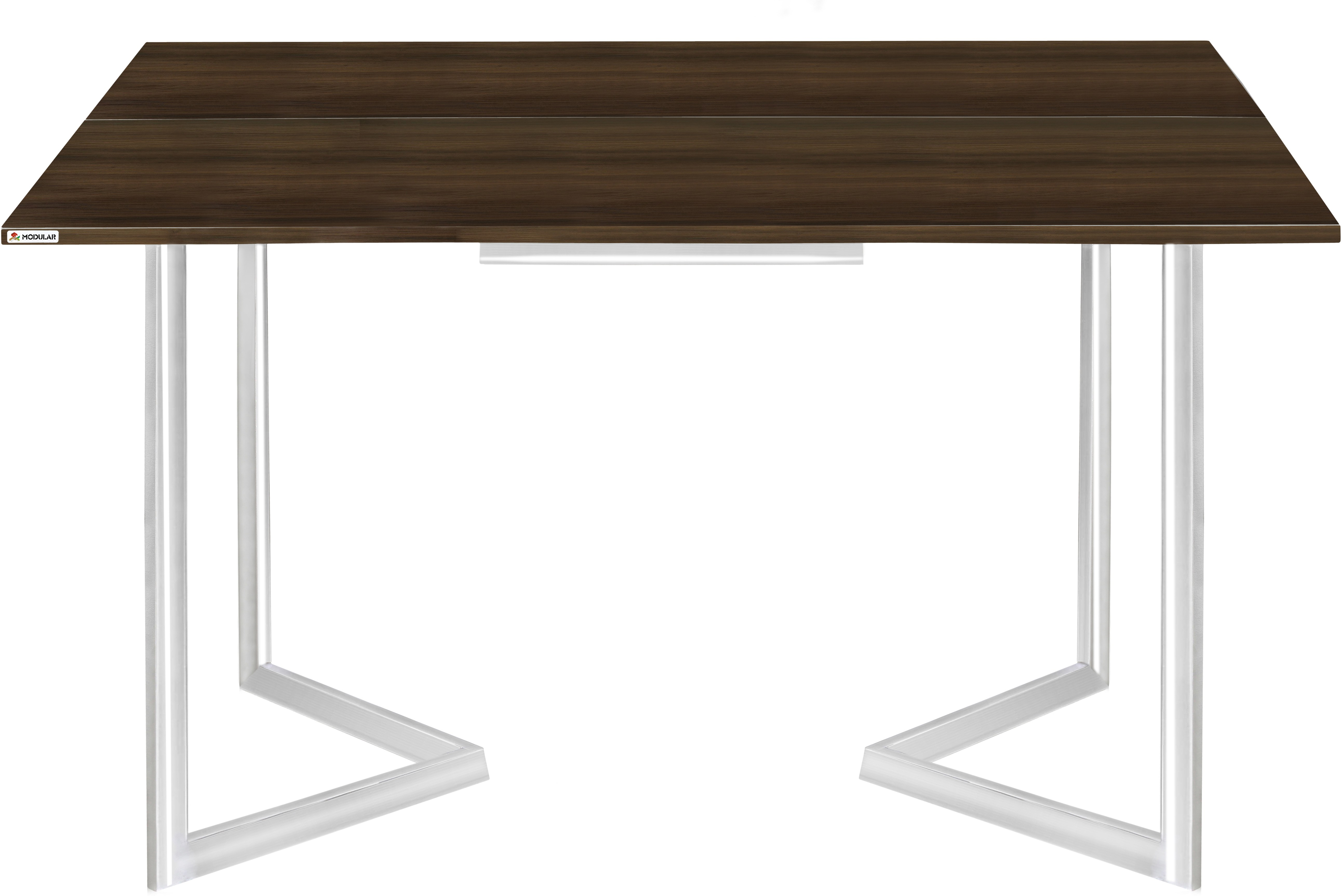 View EPL MODULAR P0005 Engineered Wood 6 Seater Dining Table(Finish Color - Chocolate Brown) Furniture (EPL Modular)